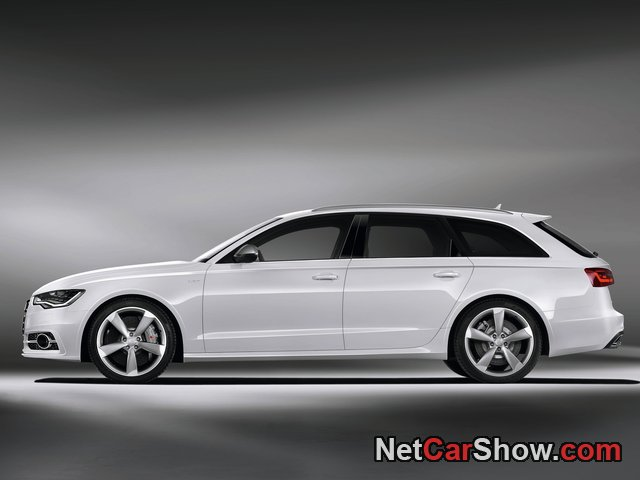 Audi S6 Avant wallpaper # 26 of 45, Side, MY 2013, 800x600