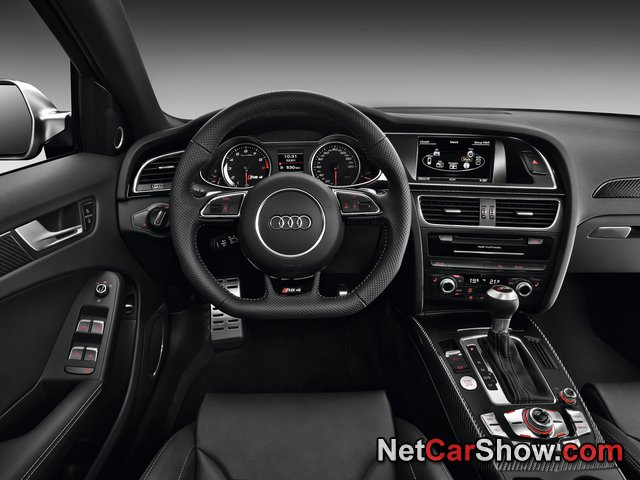 Audi RS4 Avant wallpaper # 24 of 49, Interior, MY 2013, 800x600