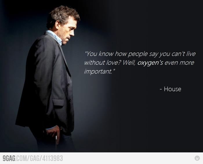 9GAG - House on the subject of
