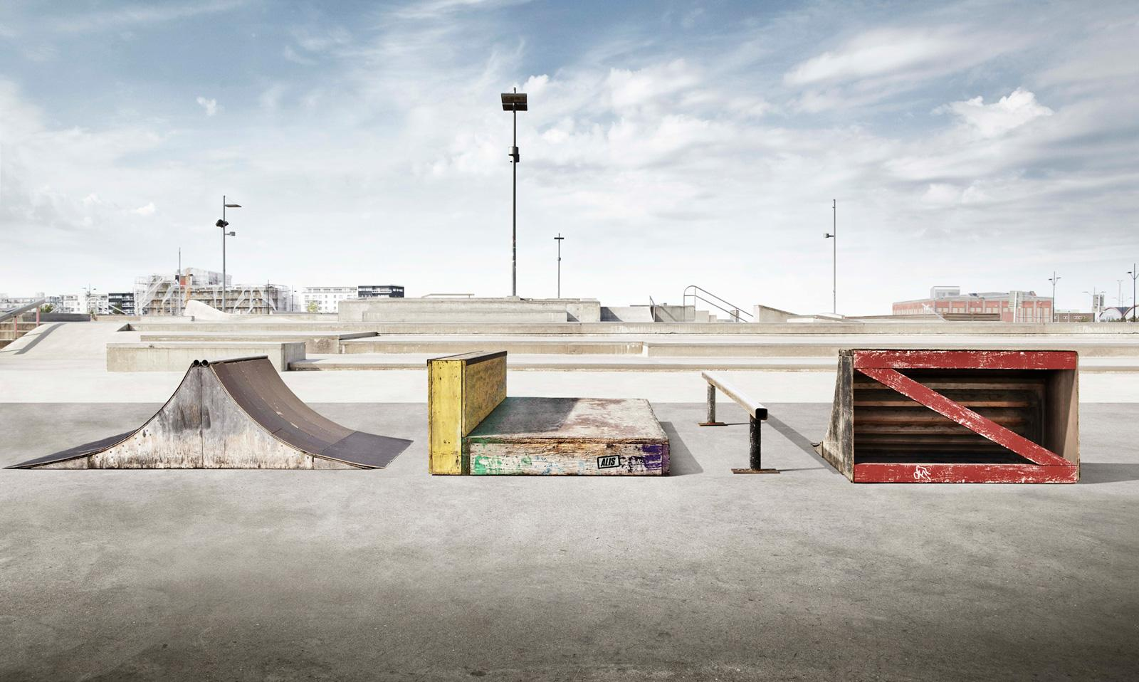 "Alis Skate Gear: Skate Park Obstacles | Ads of the Worldâ""¢"