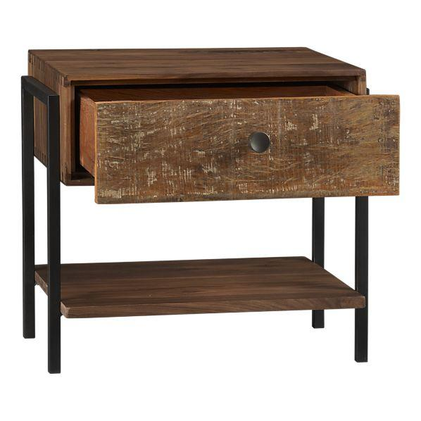 Atwood Nightstand in Nightstands | Crate and Barrel