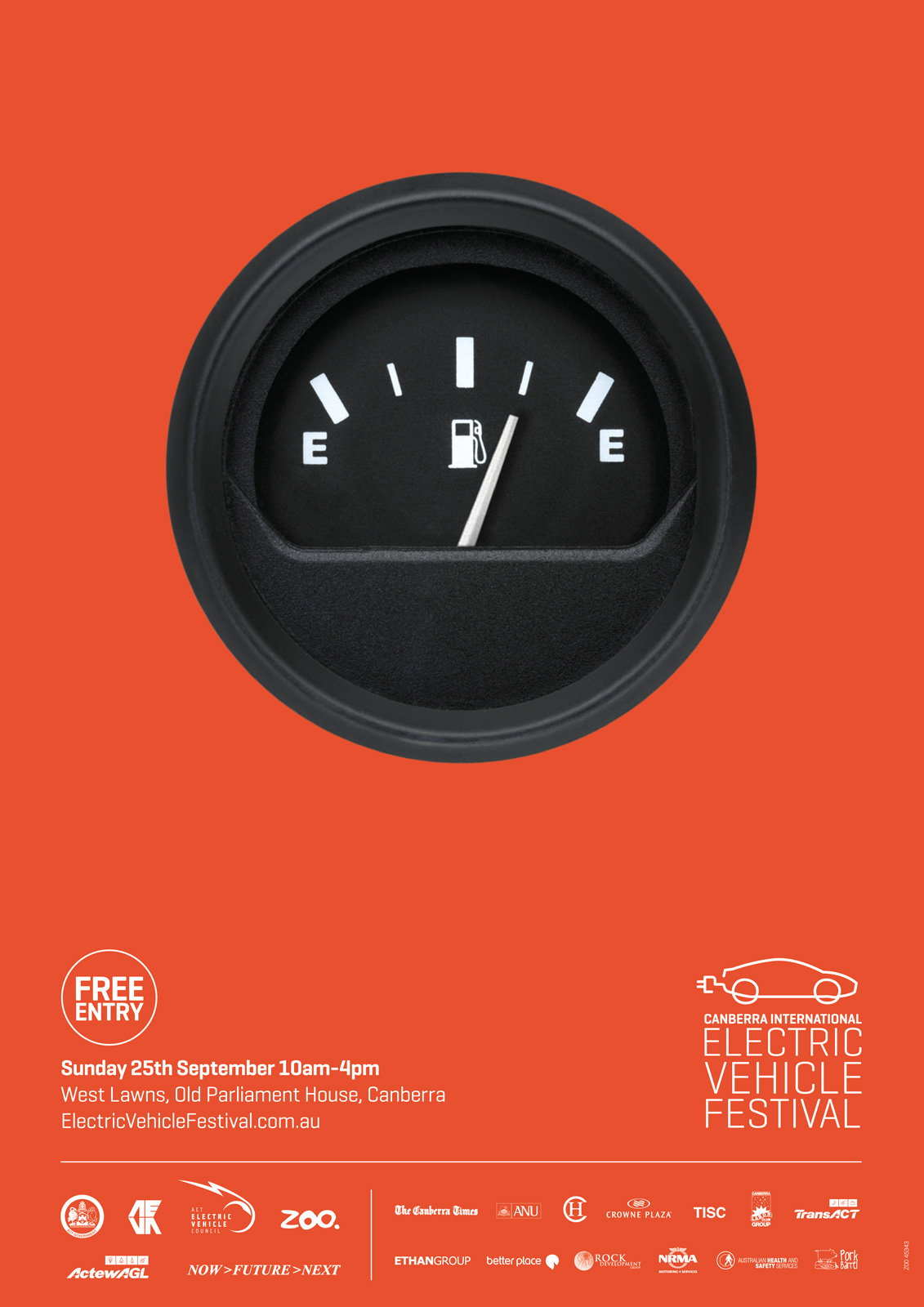 "Canberra International Electric Vehicle Festival: Fuel Gauge | Ads of the Worldâ""¢"