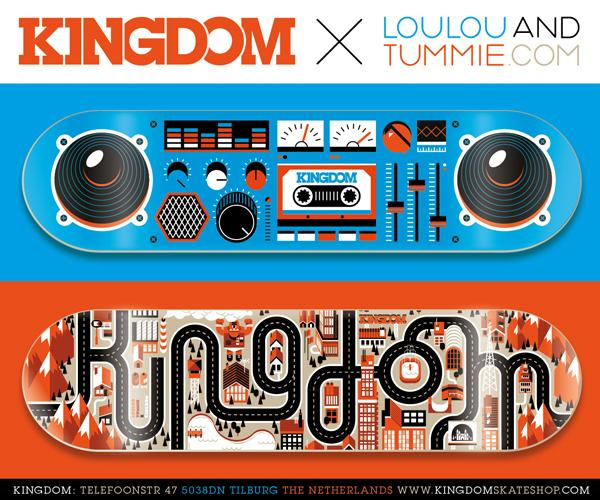 Kingdom Skateboards « LouLou & Tummie