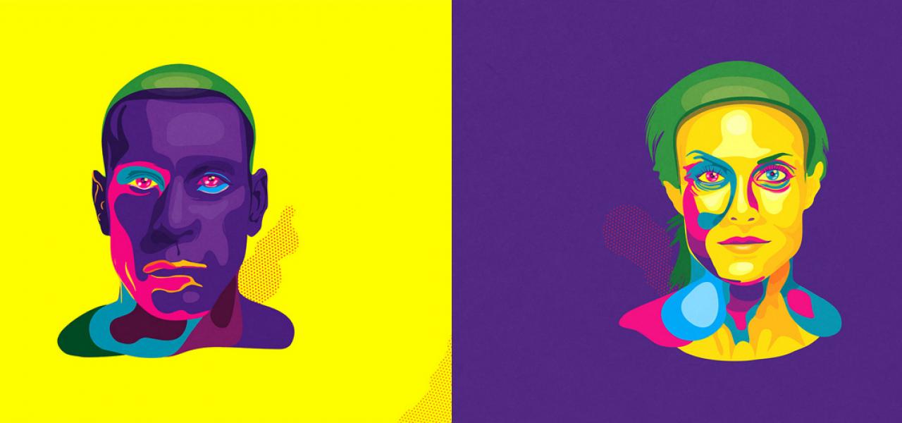 Stylish Work of Minetto   Abduzeedo   Graphic Design Inspiration and Photoshop Tutorials