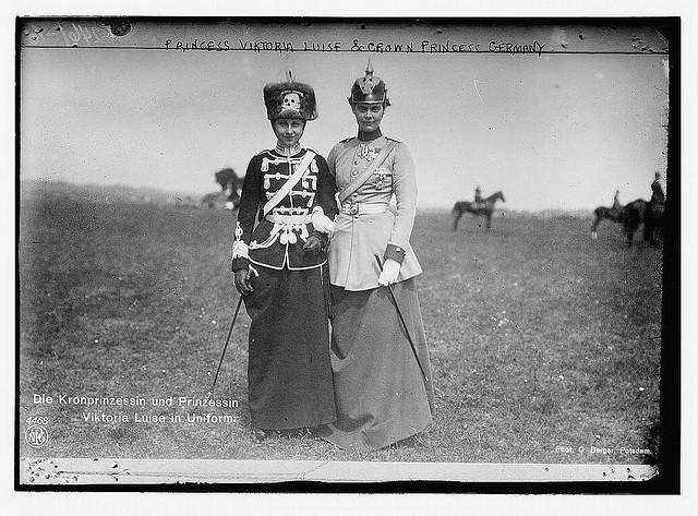 Princess Viktoria Luise and Crown Princess of Germany (LOC) | Flickr - Photo Sharing!