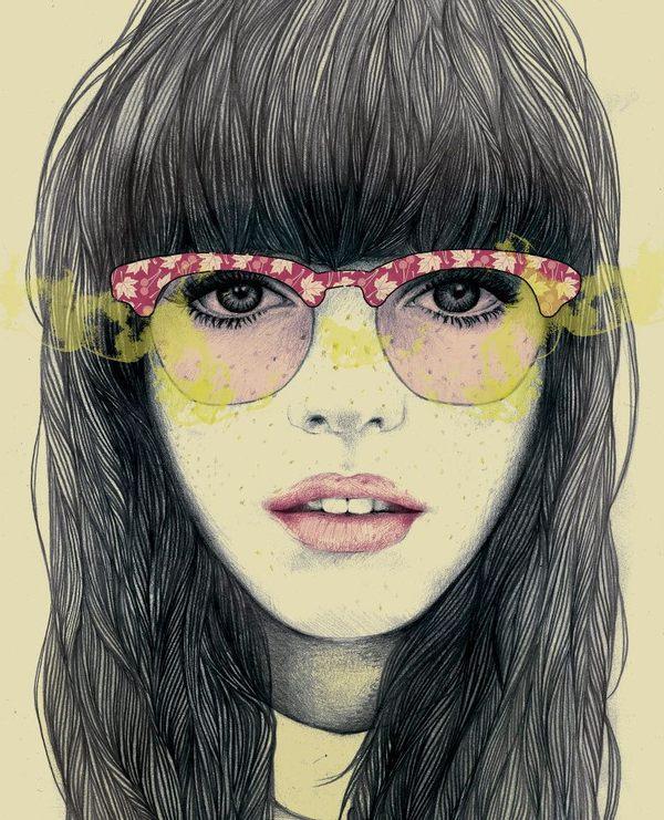 Mercedes deBellard illustration