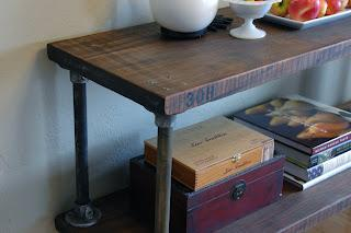 Vintage Industrial Inspired Furniture Console Tables
