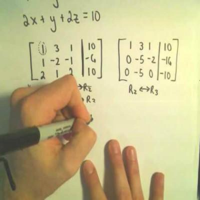 How to Solve Simultaneous Equations Using Matrices | Step by Step