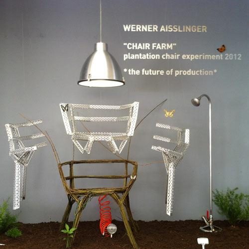 Werner Aisslinger's Chair Farm at Milan Design Week | Design Milk
