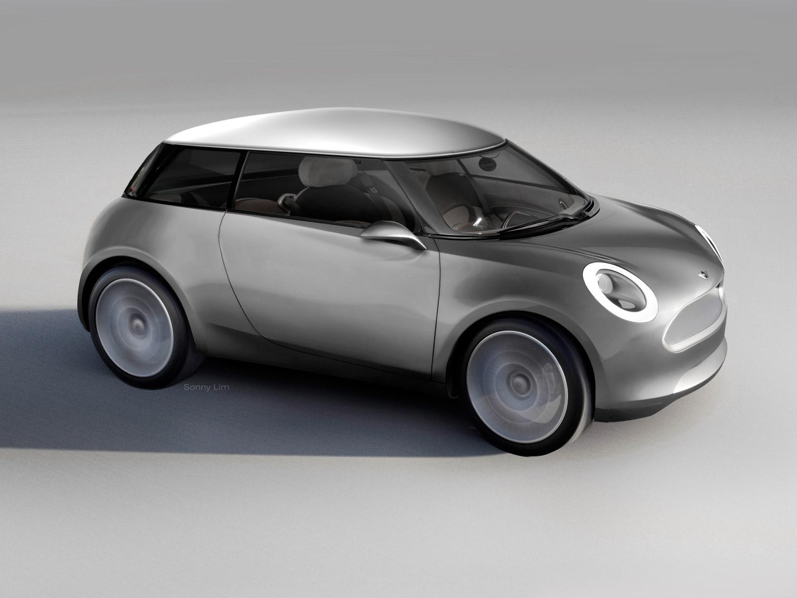 Mini Zero Concept - Car Body Design