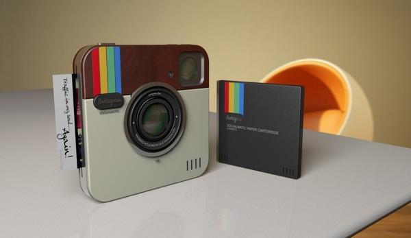 Instagram Socialmatic Camera | InspireFirst