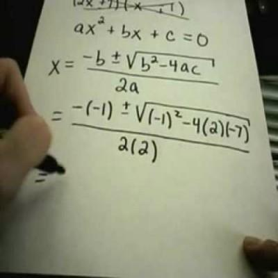 How to Solve Quadratic Equations Step by Step Guide