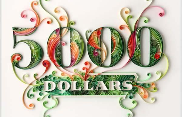 Amazing Paper Typography | Abduzeedo | Graphic Design Inspiration and Photoshop Tutorials