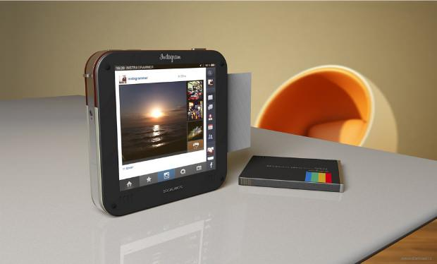 Instagram Socialmatic: A Concept Design for a Physical Instagram Camera
