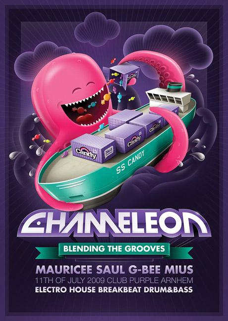 chameleon - Make Better Flyers - an inspiration source for flyer design