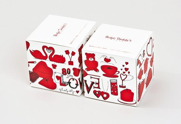 Sugar Daddy's Cupcake Packaging Design | Design.org