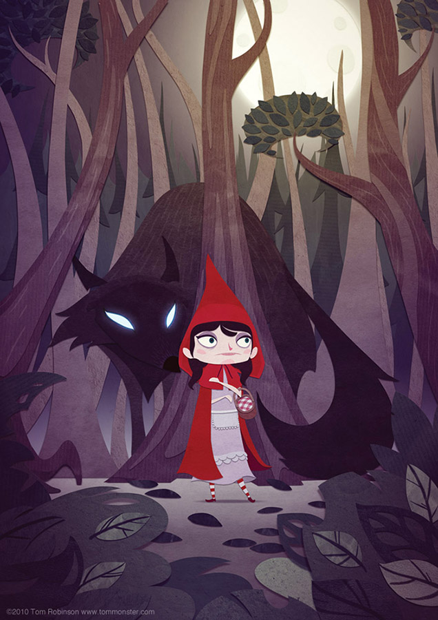 Little Red Riding Hood by TomMonster - Tom Robinson - CGHUB