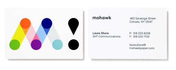 Mohawk - Business Cards - Creattica