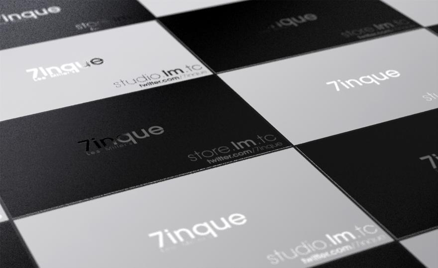 Lee Miller's 7inque - Business Cards - Creattica