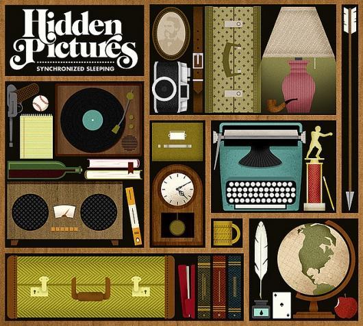Designspiration — ALBUM ART: Hidden Pictures - Synchronized Sleeping | Flickr - Photo Sharing!