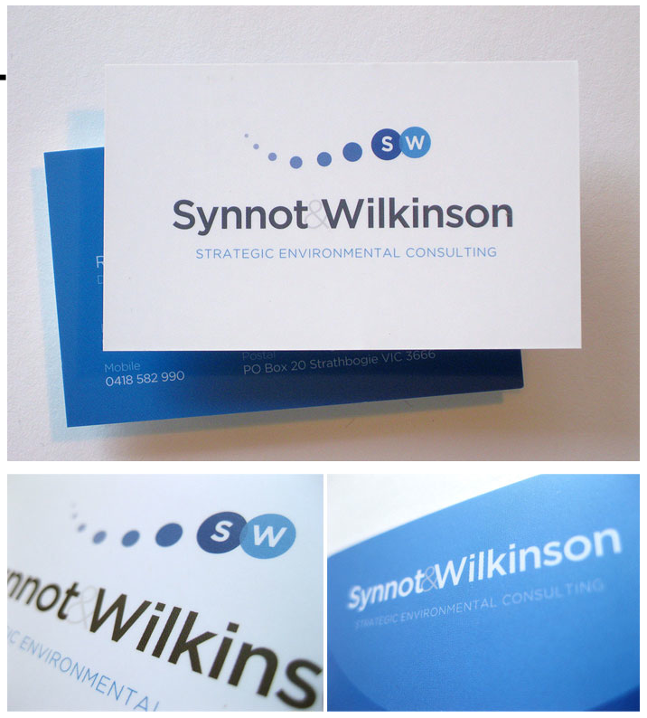 Synnot Wilkinson Business Cards - Business Cards - Creattica