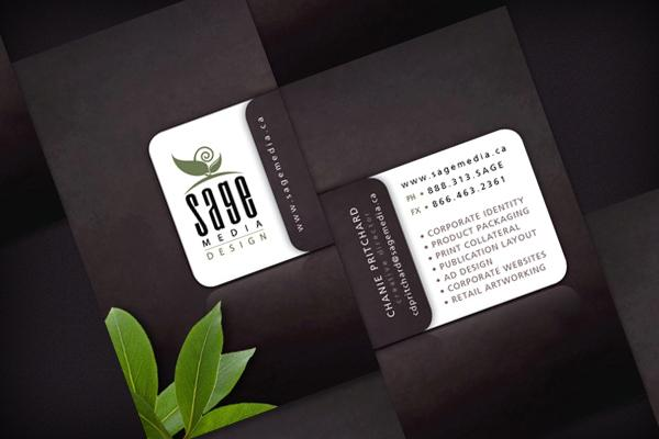 Sage Media Design - Business Cards - Creattica