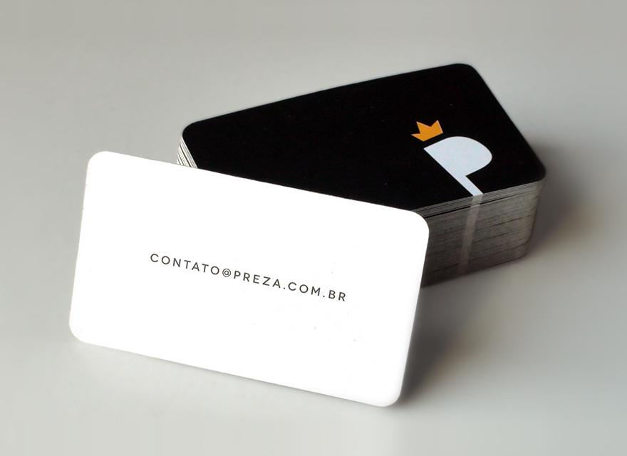 Preza - Business Cards - Creattica