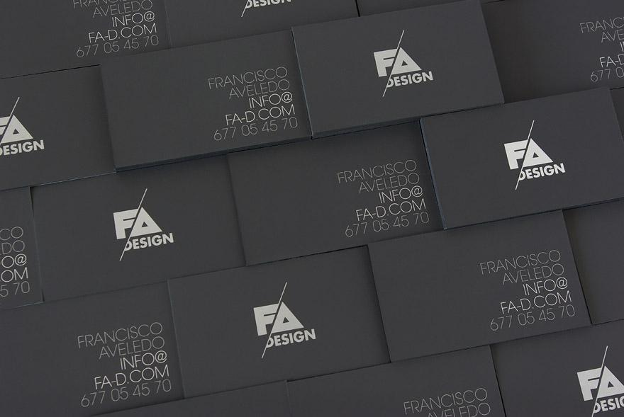 FA Design Business Cards - Business Cards - Creattica