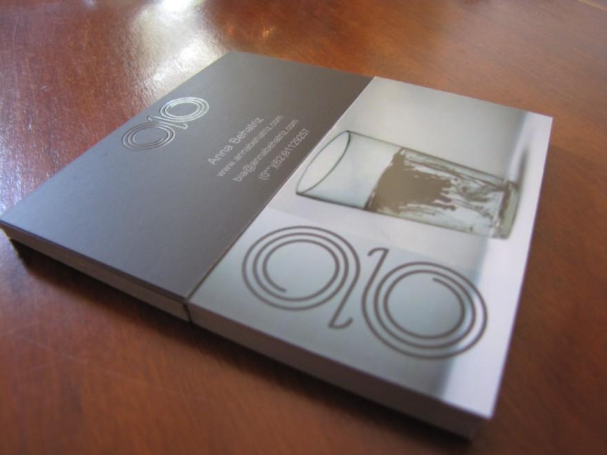 Anna Behatriz - Artist - Business Cards - Creattica
