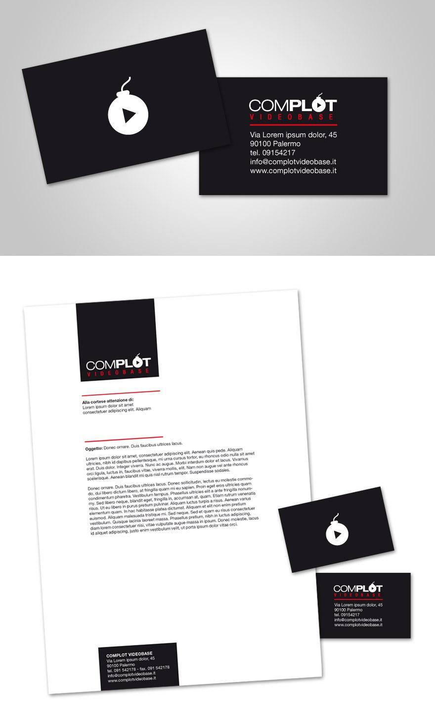 Complot - Business Cards - Creattica