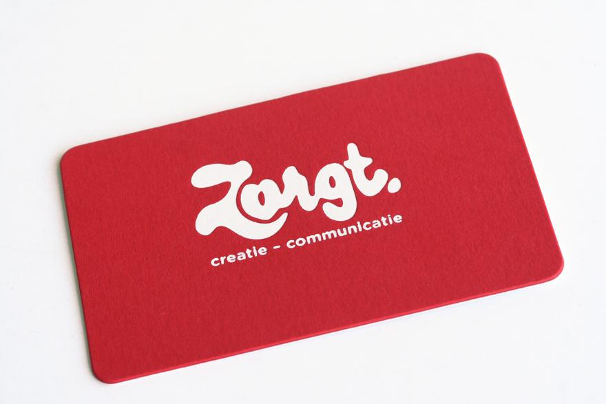 Zorgt - Business Cards - Creattica