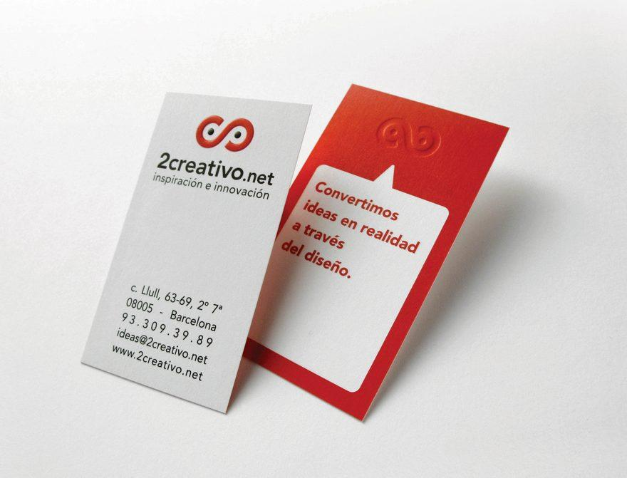 2creativo logo - Business Cards - Creattica
