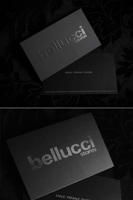 Bellucci Stores - Business Cards - Creattica