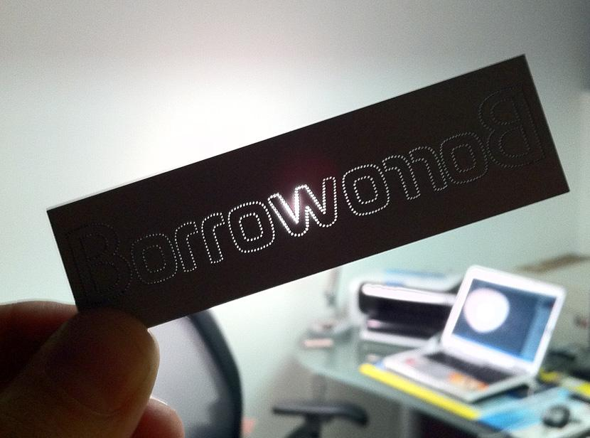 BorrowOrRob clothing store - Business Cards - Creattica