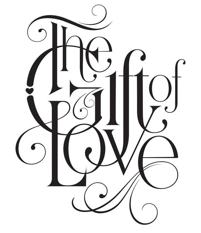 The-Gift-of-Love-B-W.jpg (640×743)