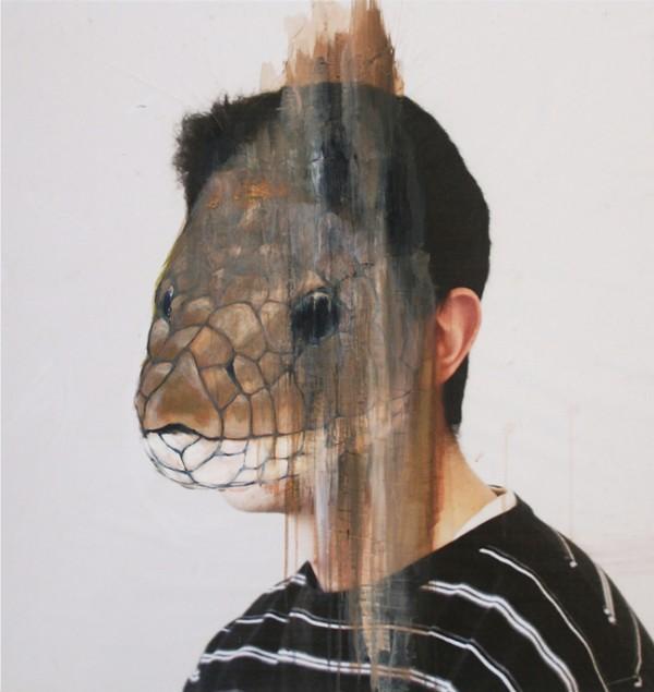 Charlotte Caron's Painted Animal Portraits | Trendland: Fashion Blog & Trend Magazine