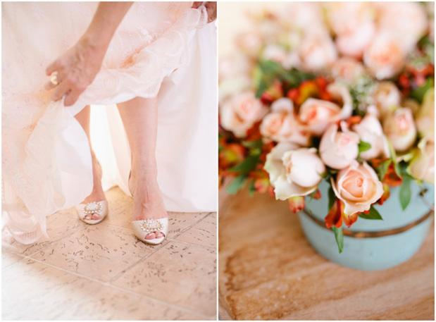 Peach and Mint Romance | Grey Likes Weddings