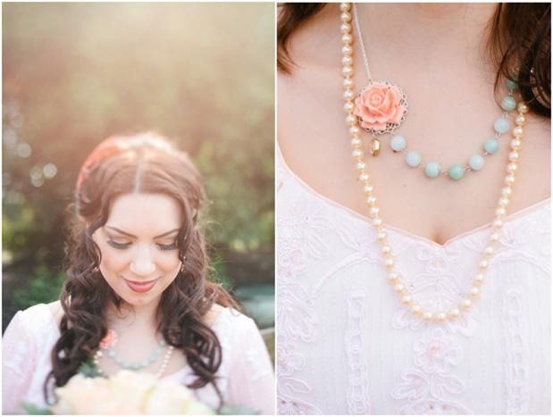 Peach and Mint Romance | Grey Likes Weddings