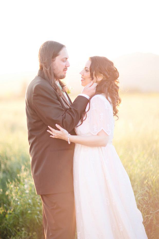 Peach and Mint Romance   Grey Likes Weddings