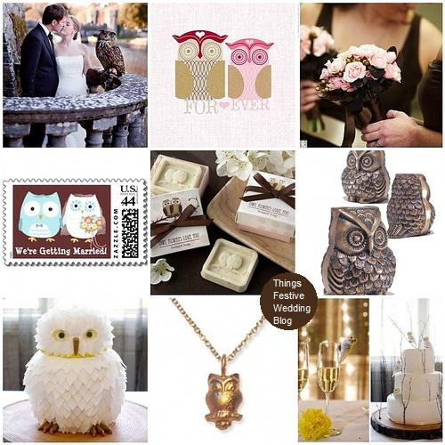 Things Festive Wedding Blog: Bird Wedding Theme - Owl Always Love You