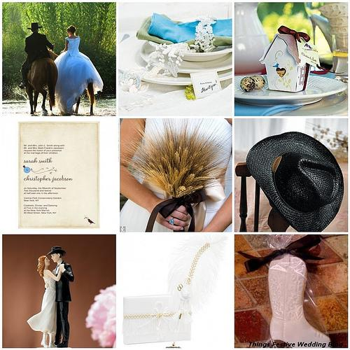 Things Festive Wedding Blog: Western Wedding Theme Two Ways