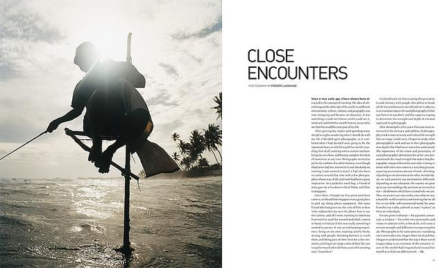 All sizes | CITY 55: Close Encounters, Travel Portfolio — Photography and Words by Frederic Lagrange — Spread Opener | Flickr - Photo Sharing!