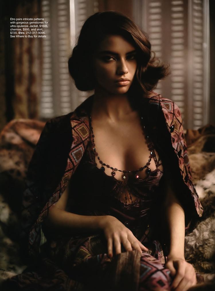 Adriana Lima x Harper Bazaar June 2004 @ ShockBlast