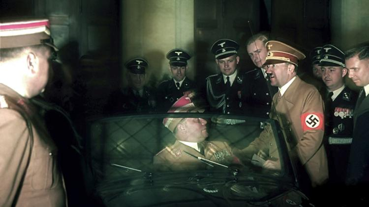 Rare WWII COLOR photos by Hugo Jaeger @ ShockBlast