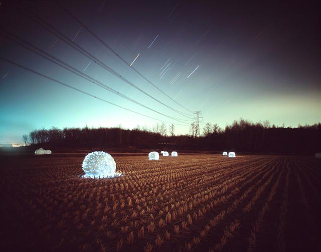Starry Night: Light Installations by Lee Eunyeol @ ShockBlast