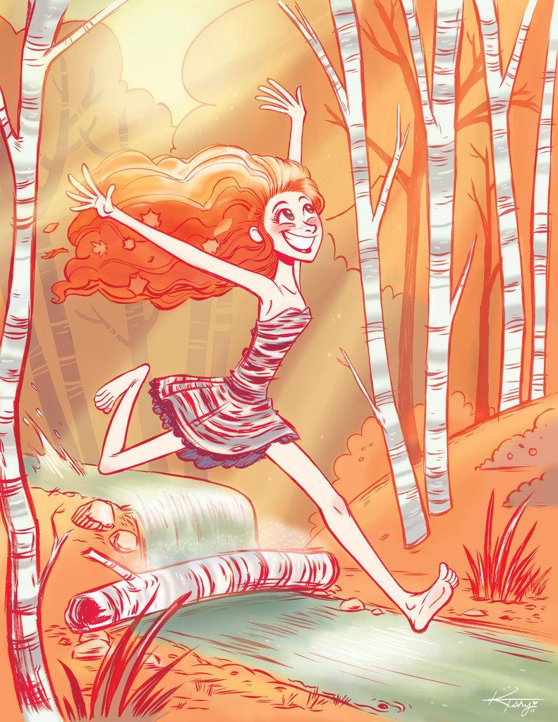Katie Shanahan: Cartoonist, animator, storyboard artist | Original Work