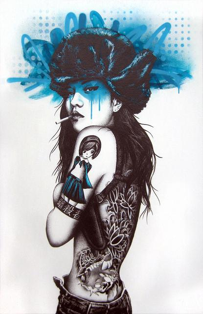 Urban Female Illustrations by Fin Dac | VPMAG