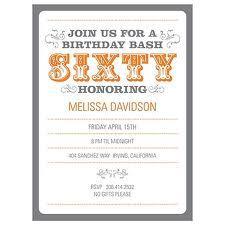 60th birthday invitations - Google Search