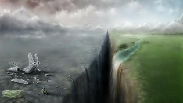 landscapes,crash landscapes crash sad artwork 1920x1080 wallpaper – Landscapes Wallpaper – Free Desktop Wallpaper