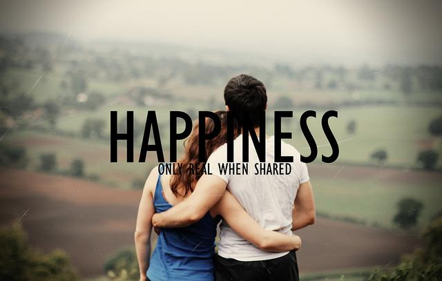 happiness only real when shared | Flickr - Photo Sharing!